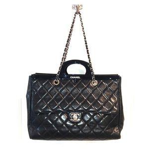 690b1b34cdc73a Women Chanel Large Tote Bag Price on Poshmark